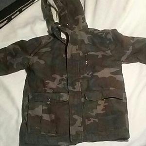 Camo Jacket / Coat